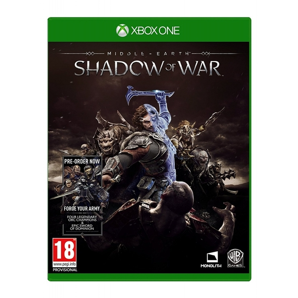 Middle Earth Shadow of War Xbox One Game