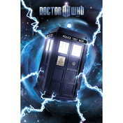 Doctor Who Tardis Foil Maxi Poster