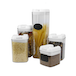Set of 5 Airtight Food Containers | M&W - Image 2