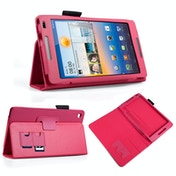 YouSave Accessories Huawei Mediapad M1 Leather-Effect Stand Case - Hot Pink