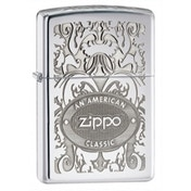 Zippo Gleaming Patina High Polish Chrome Windproof Lighter