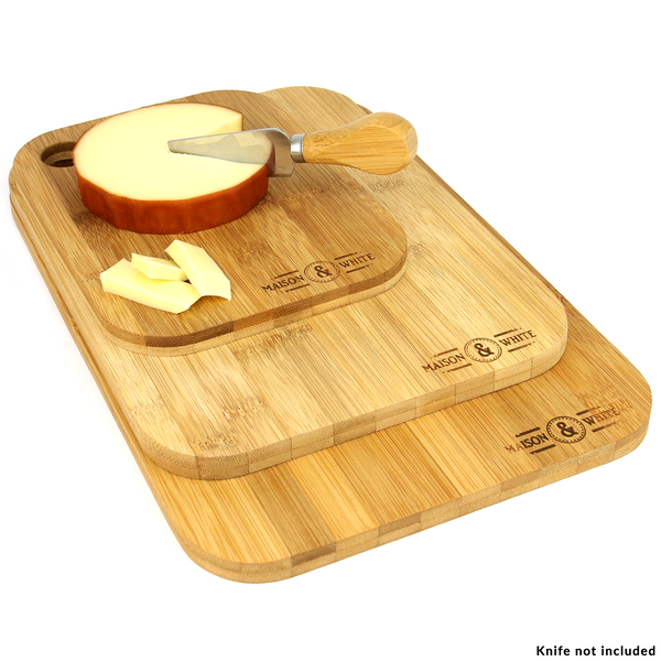 Bamboo 3x Chopping Board