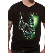 Aliens Alien Head T-Shirt Medium