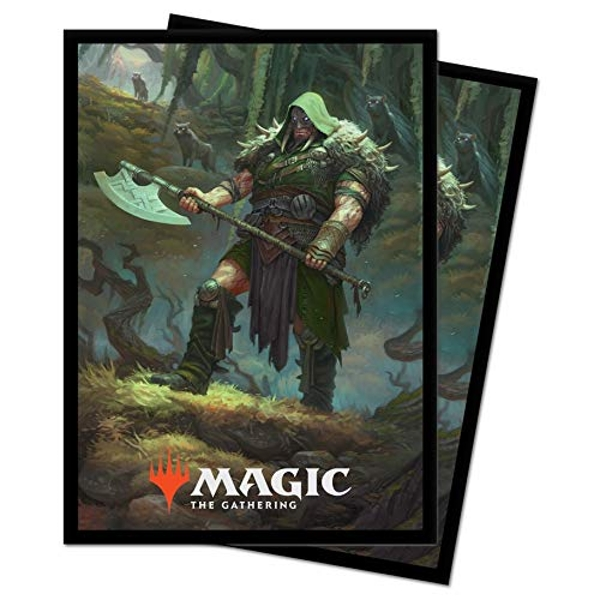 Ultra Pro Magic The Gathering: Throne of Eldraine Garruk - Cursed Huntsman - 100 Sleeves