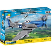 Cobi Small Army WWII North American P-51D Mustang Aircraft 265 Toy Building Bricks