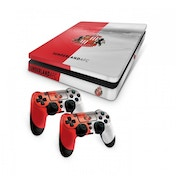 Official Sunderland FC PS4 Slim Console Skin and 2x Controller Skin Combo Pack