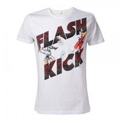 Capcom Street Fighter IV Guiles Flash Kick X-Large T-Shirt - White