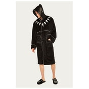 Marvel Black Panther Outfit Mens Bathrobe