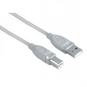 Hama Shielded USB 2.0 Cable (Grey) 1.80 m