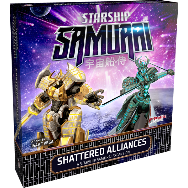 Starship Samurai Shattered Alliances Expansion