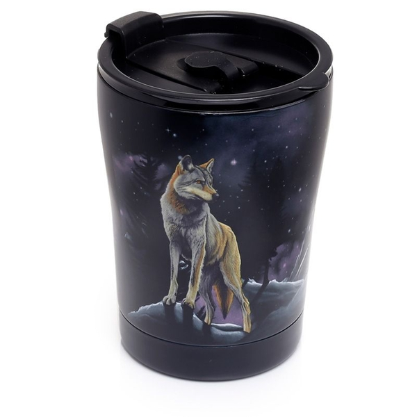 Protector of the North Wolf Reusable Stainless Hot & Cold Thermal Insulated Food & Drink Cup 300ml