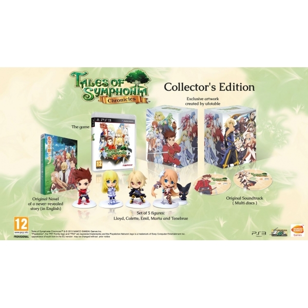 Tales of Symphonia Chronicles Collectors Game + Phone Carry Case PS3