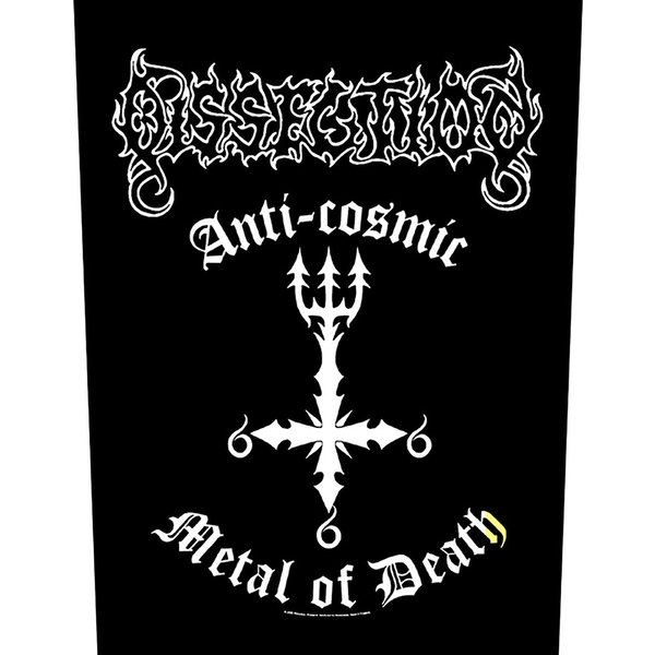 Dissection - Anti-Cosmic Back Patch