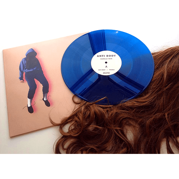 Gazelle Twin ‎- Anti Body Limited Edition Blue Vinyl