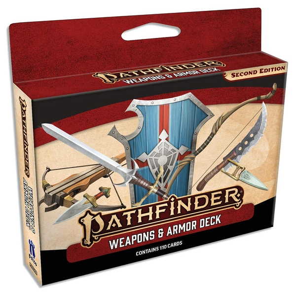 Pathfinder RPG Second Edition (P2) Weapons & Armor Deck
