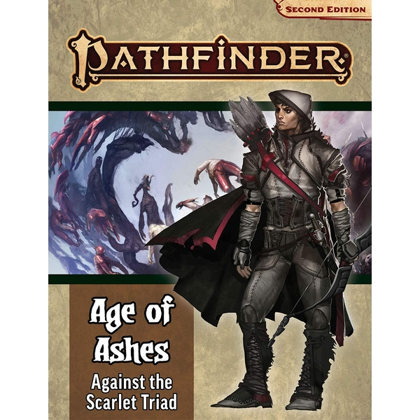 Pathfinder RPG Second Edition Adventure Path: Against the Scarlet Triad (Age of Ashes 5 of 6)