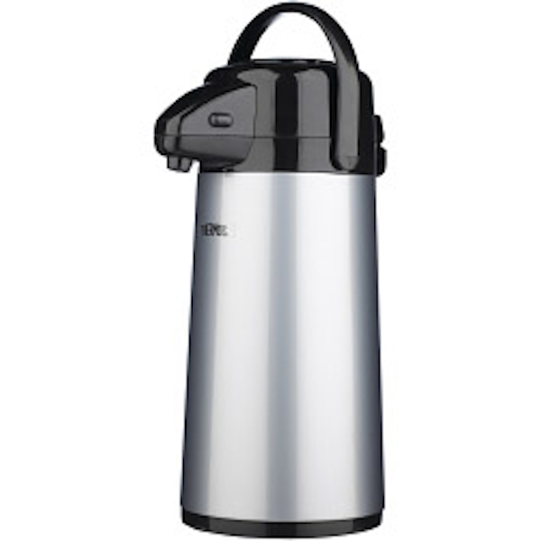 Thermos Push Button Pump Pot 1.9L Stainless Steel