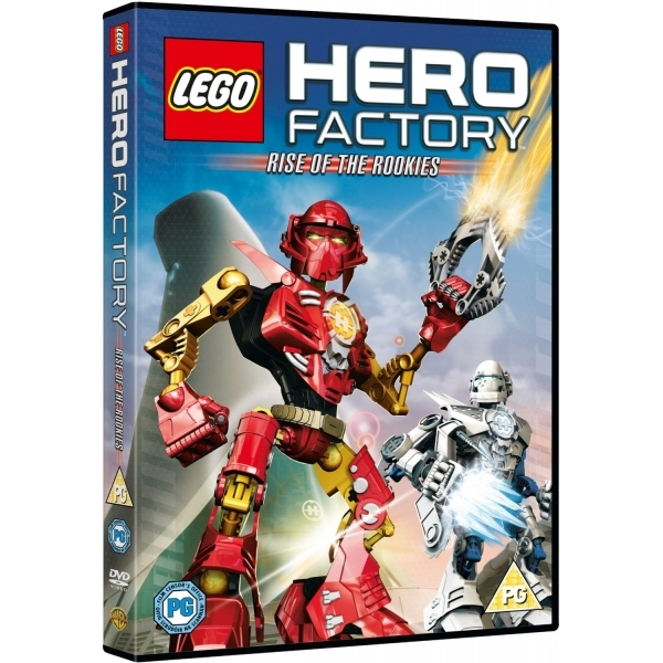 Lego Hero Factory Rise Of The Rookies Dvd Ozgameshopcom