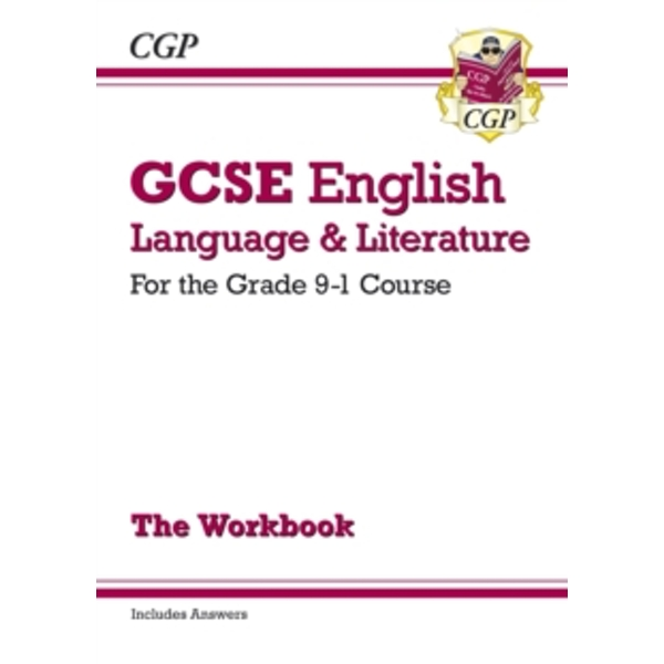New GCSE English Language and Literature Workbook - For the Grade 9-1 Courses (Includes Answers) by CGP Books (Paperback, 2015)