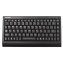 Keysonic ACK-595U Wired Mini Keyboard, USB, Soft Skin Coating
