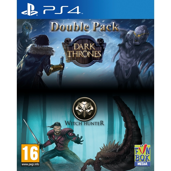 Dark Thrones / Witch Hunter Double Pack PS4 Game