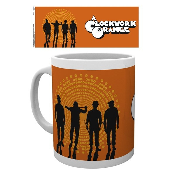 Clockwork Orange Silhouttes Mug