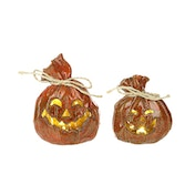 Pumpkin Candle Holders by Heaven Sends (Set of 2)