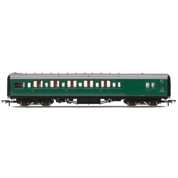 Hornby BR Maunsell Corridor Six Compartment Brake Second S2763S 'Set 230' Era 5 Model Train