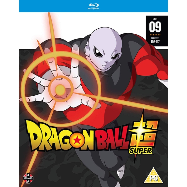 Dragon Ball Super Part 9 (Episodes 105-117) Blu-ray