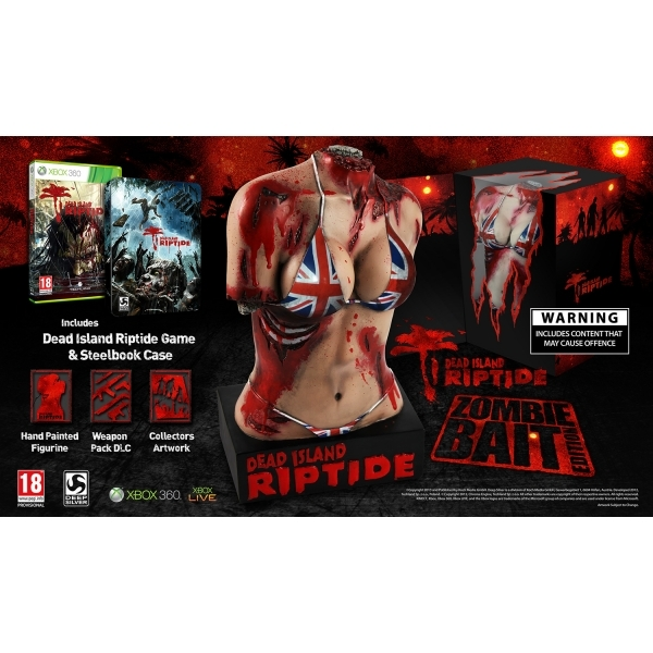 Dead Island Riptide Zombie Bait Edition Game Xbox 360 - Image 1