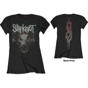 Slipknot - Infected Goat Women's Medium T-Shirt - Black
