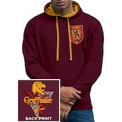 Harry Potter - House Gryffindor Men's Medium Hoodie - Red