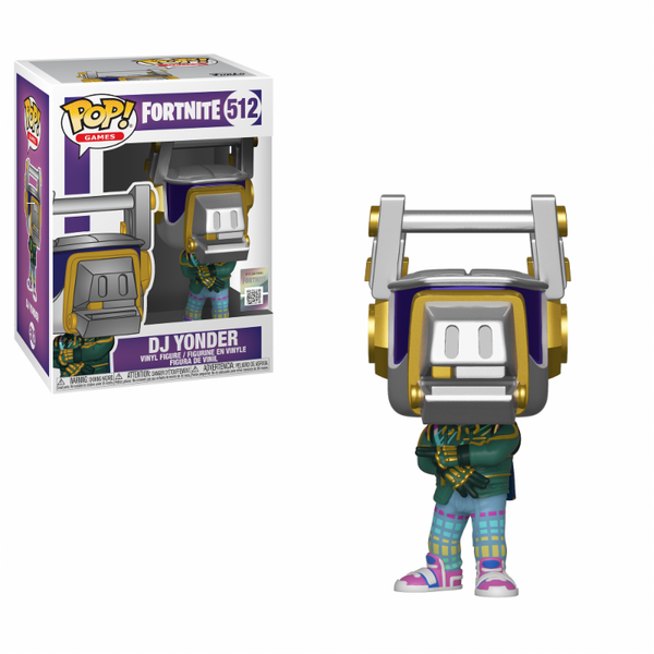 DJ Yonder (Fortnite S3) Funko Pop! Vinyl Figure #512