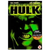 The Death Of The Incredible Hulk DVD
