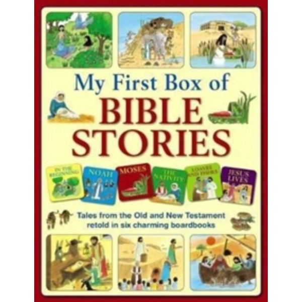 My First Box of Bible Stories: Tales from the Old and New Testament Retold in Six Charming Boardbooks by Anness Publishing (Mixed media product, 2017)