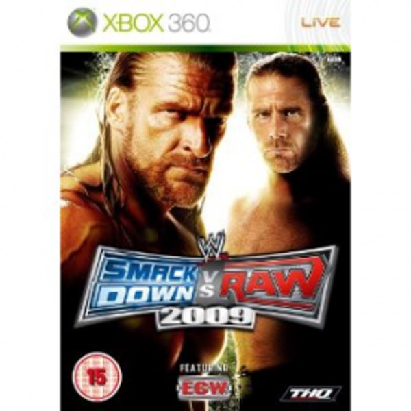 WWE Smackdown vs Raw 2009 Game Xbox 360
