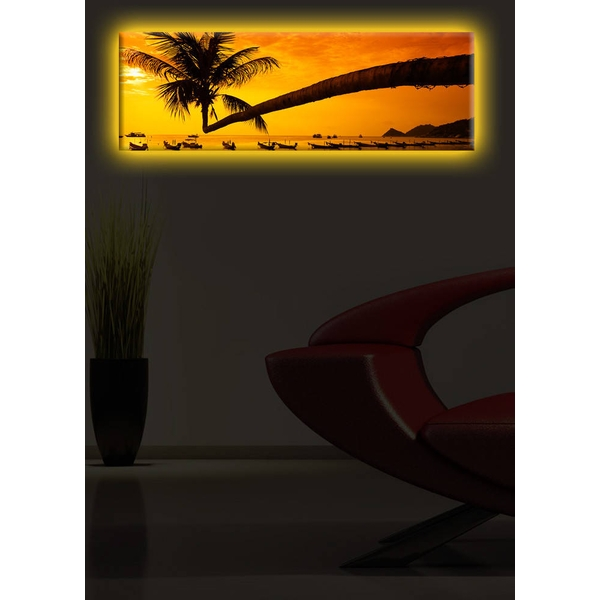 3090DACT-22 Multicolor Decorative Led Lighted Canvas Painting