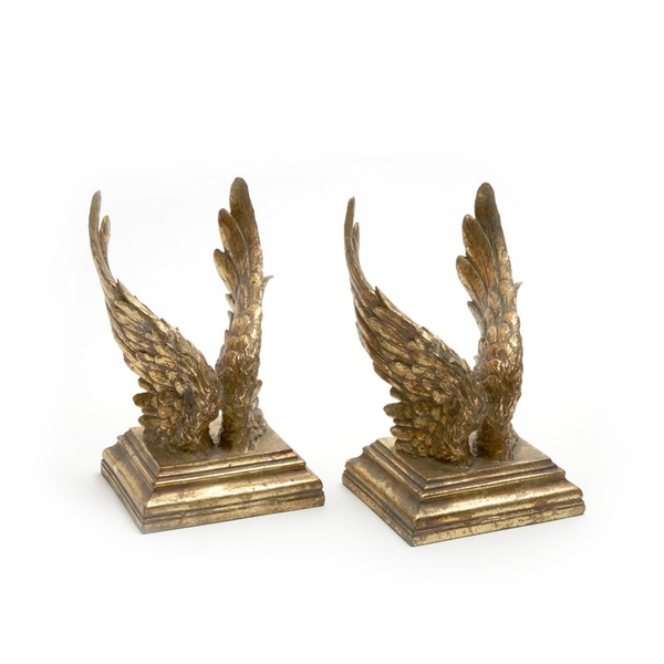 Gold Wing Book Ends By Heaven Sends