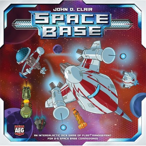 Ex-Display Space Base Board Game Used - Like New