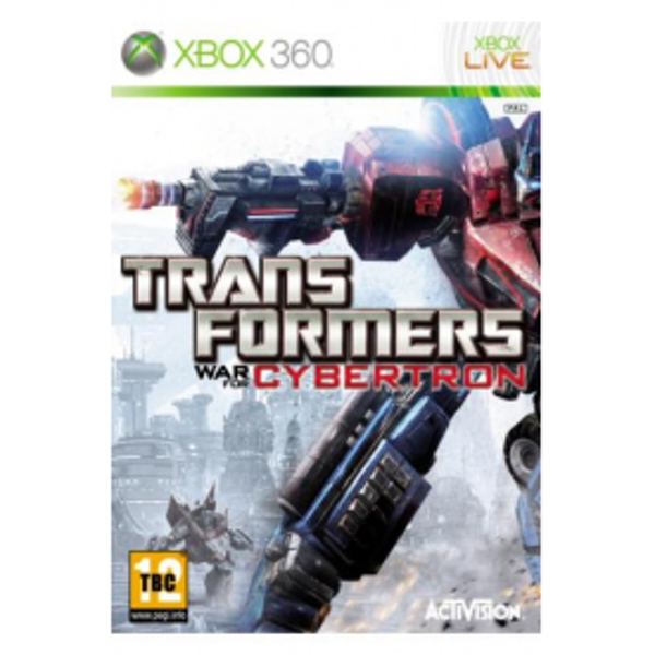Transformers War for Cybertron Game Xbox 360