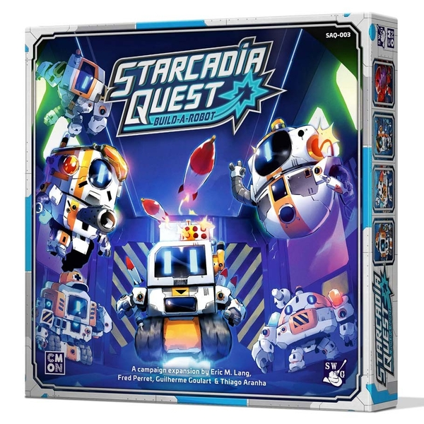 Starcadia Quest: Build-a-Robot Board Game