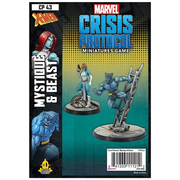 Marvel Crisis Protocol Miniatures Game - Beast and Mystique