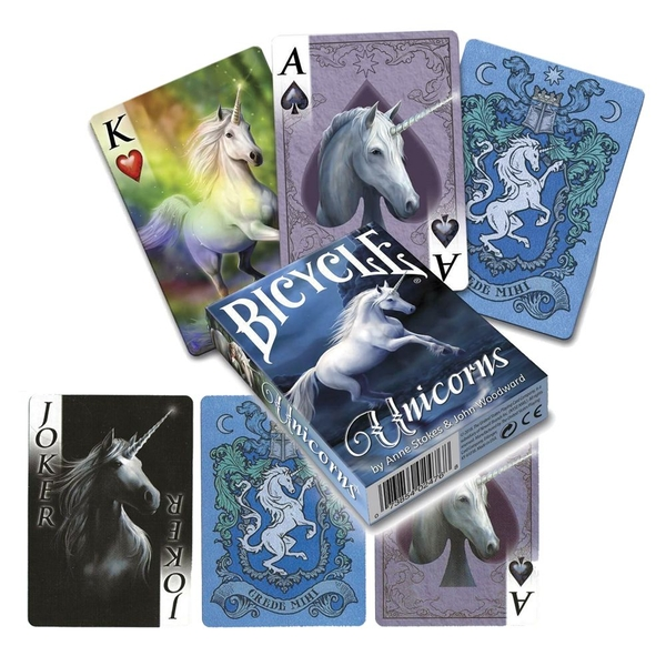 Anne Stokes Unicorns Playing Cards
