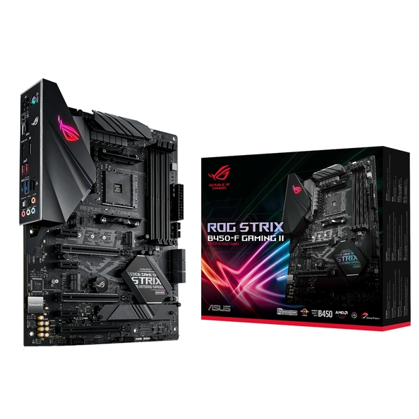ASUS ROG STRIX B450-F GAMING II AMD B450 Socket AM4 ATX