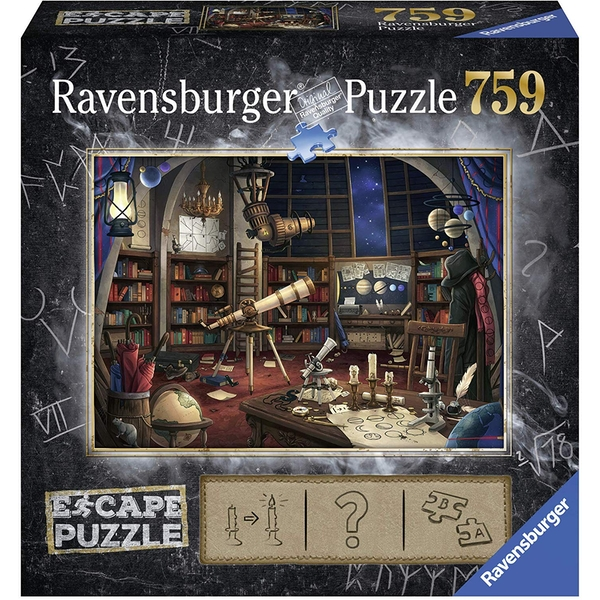 Image of Ravensburger Escape Puzzle – Space Observatory 759 Piece Mystery Jigsaw Puzzle