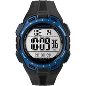 Timex TW5K94700 Mens Marathon Watch with Resin Strap Black/Blue