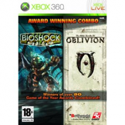 Bioshock & Elder Scrolls Oblivion Double Pack Game Xbox 360