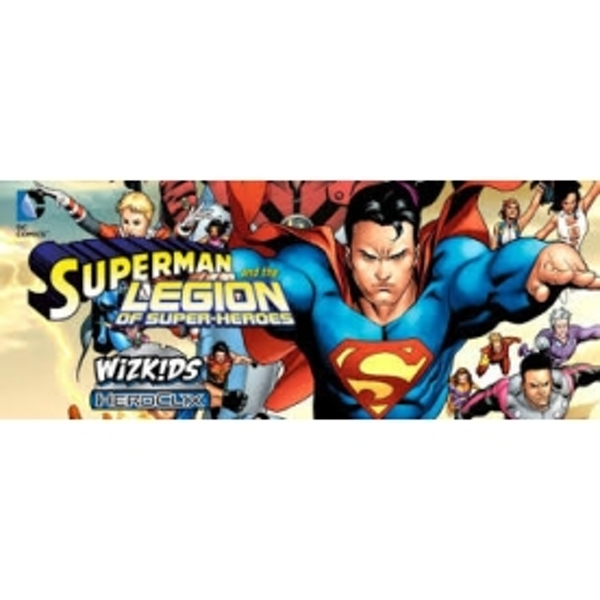 DCH Superman Legion of Super Heroes Gravity Feed