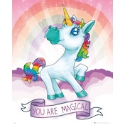 Unicorn Magical Mini Poster