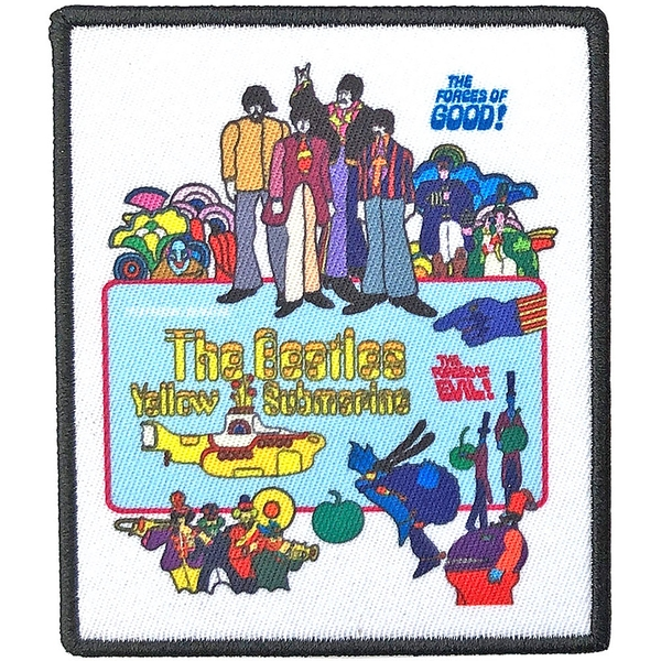The Beatles - Yellow Submarine Movie Poster Standard Patch